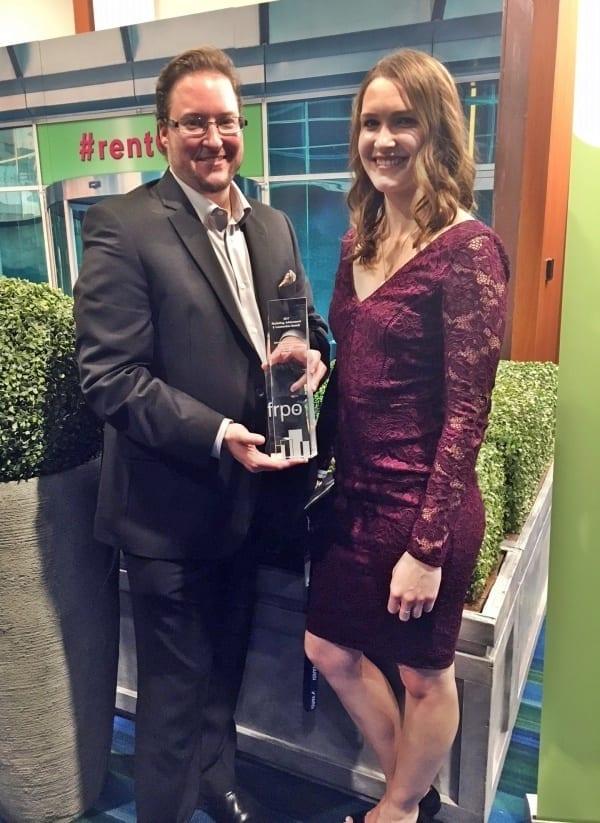 Skyline's marketing team won the FRPO award for best single building website