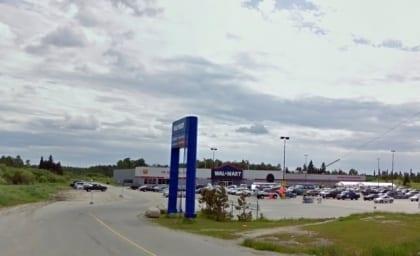 Wal-Mart location in Dryden, Ontario
